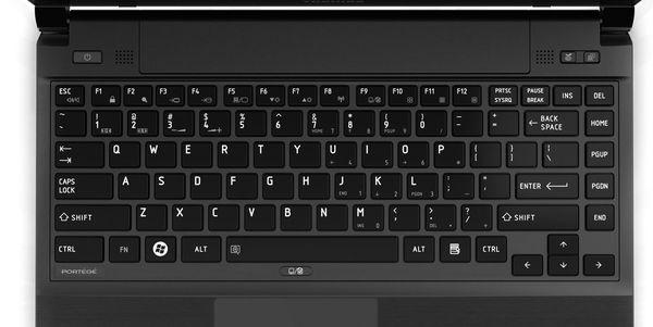 клавіатура Тошиба
